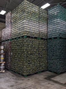 Cans for days.